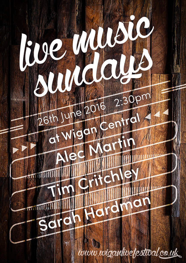 Wigan Live Fundraiser - Wigan Central on 26th June